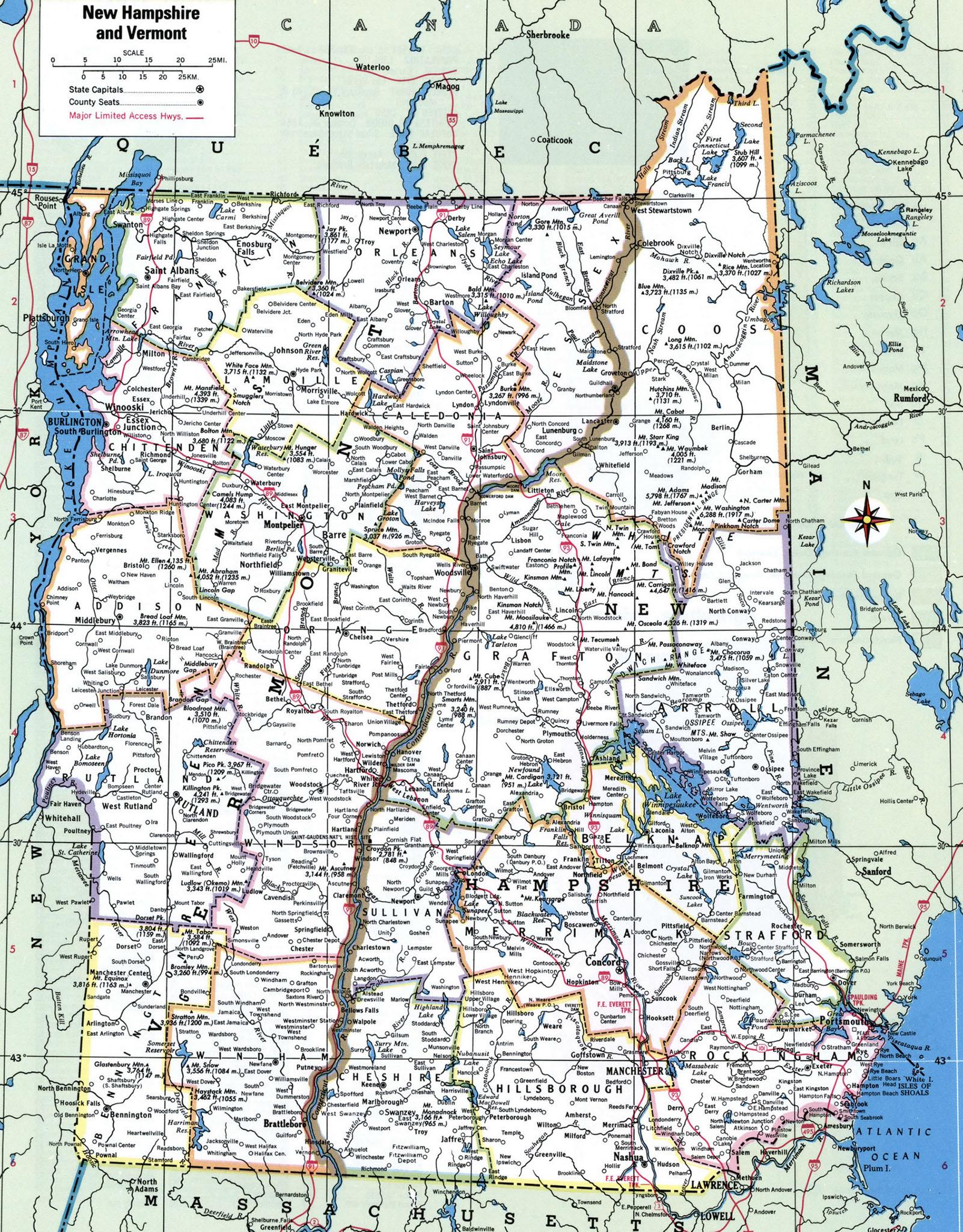 Vermont county